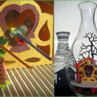 this is folk art in a bottle