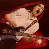Acrylic on canvas 30x40cm