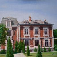 A commission for the owners of the mansion, which is situated in Picardy, France.