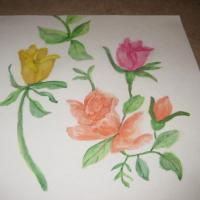 These pictures are mostly done in watercolor and pastels