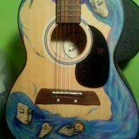 An first act acoustic guitar