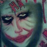 Was done in pastels from the movie The Dark Knight the Joker Heath Ledger..