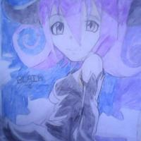 Blair from the anime Soul eater.