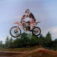 Inspired in motorcross