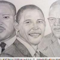 I drew this for black history month.