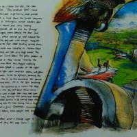 page from a childrens story i have written, `The Old Library`