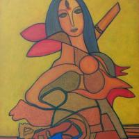 17.Devi-(acrylic on canvas,18