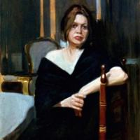 Portrait in the room