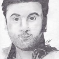 Pencil sketch work
