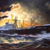 'Last of the Line' . The Inishowen Head 111 was the last in a long line of cargo ships owned by the Head Line of Belfast. Formerly the Ulster Steamship Company. 
