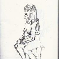 an observed life drawing